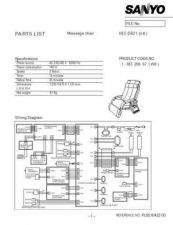 Buy Sanyo Service Manual For HEC-DR21 BLACK Parts List Manual by download #175908