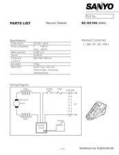 Buy Sanyo SC-X2000-01 Manual by download #175337