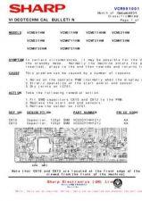 Buy Sharp VCM312HM-006 Service Schematics by download #158943