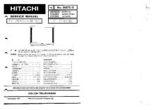 Buy HITACHI No 0067C-E Service Data by download #147209