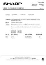 Buy Sharp VCMH67HM-010 Service Schematics by download #159074