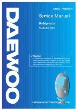 Buy Daewoo Model FR-330 Manual by download #168601