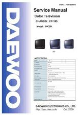 Buy Daewoo 14C3NTBL (E) Service Manual by download #154557