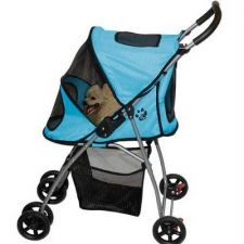 Buy Pet Gear Ultra Lite Pet Stroller Blue
