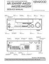 Buy KENWOOD KRF-A4020 Service Schematics by download #131636