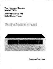 Buy INFINITY T403 SM Service Manual by download #151584