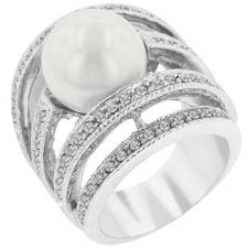 Buy Right-hand Pearl Ring (size: 10)
