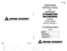 Buy Amprobe P3100CT Operating Guide User Instructions by download Mauritron #194438