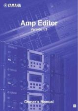 Buy Yamaha AMP EDITOR EN OM V13A Operating Guide by download Mauritron #204383