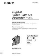 Buy SONY DCR-PC101 OPERATING GUIDE by download #166682