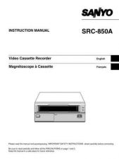 Buy Sanyo SRC850A(OM5310456-00) Manual by download #177205