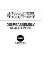 Buy Minolta EP1030 P6001 DIS REAS Service Schematics by download #138037