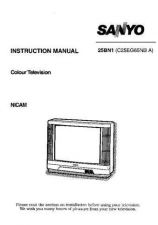 Buy Sanyo 25BN1 Manual by download #172622