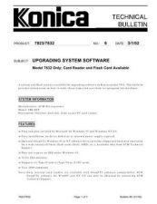 Buy Konica 06 Service Schematics by download #135893