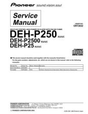 Buy PIONEER C3032 Service Data by download #149144