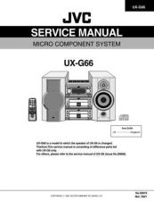 Buy JVC UX-Z7MDR par Service Manual by download #156669