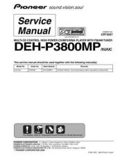 Buy PIONEER C3557 Service Data by download #152968