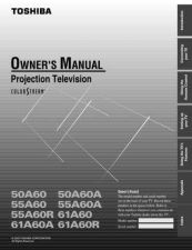 Buy Toshiba 57h84 om e Manual by download #171679