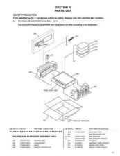 Buy JVC HR-VP59U PARTS TECHNICAL DATA by download #131054