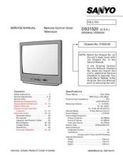 Buy Sanyo DS31520(OM) Manual by download #174069