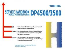 Buy Toshiba SERVICE HANDBOOK Service Manual by download #139349