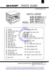 Buy Sharp AR162-163-201-206-207-F161-F201-S162-S201-S206 PG GB-JP Manual by downloa