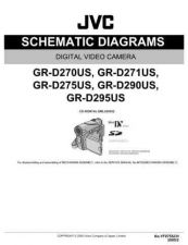 Buy JVC GR-D290US sch Service Schematics by download #155591