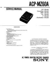 Buy SONY AC-VQP10 Service Manual by download #166261