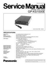 Buy MODEL GPKS1000 Service Information by download #124151