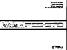 Buy Yamaha PSS370E Operating Guide by download Mauritron #205085