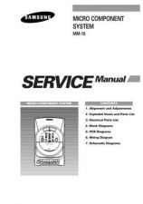 Buy Samsung MM19LH AMF40012101 Manual by download #164643