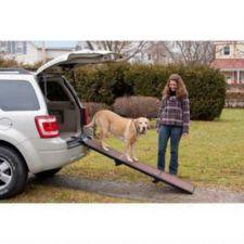 """Buy Pet Gear Full Length 71"""" Long Tri-Fold Folding Pet Ramp with Handle"""