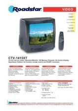 Buy ROADSTAR CTV-1415XKT by download #127988