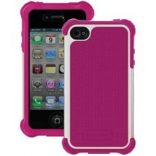 Buy Ballistic Iphone 4 And 4s Sg Maxx Series Case (pink And White)