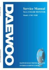 Buy DAEWOO MON518BSVC 1 Manual by download Mauritron #184906