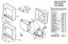 Buy MODEL GS9822 Service Information by download #124168