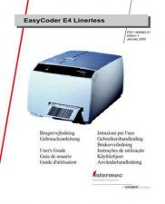 Buy INTERMEC EASYCODER E4 LINERLESS USER'S GUIDE by download #148035