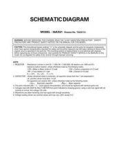Buy TOSHIBA 36AX61 SCM Service Schematics by download #159947