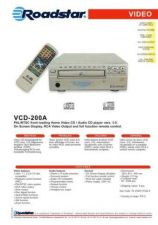 Buy ROADSTAR VCD-200A by download #128562
