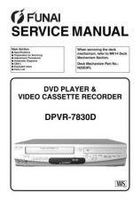Buy Funai DPVR-7630 E8B00ED(DE) 0117 Service Schematics by download #161946