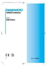Buy Deewoo DSB-F244AH (P) Operating guide by download #167706