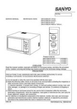 Buy Sanyo Service Manual For EM-P1010EXL Manual by download #175831