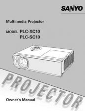 Buy Sanyo PLC-SW15 Manual by download #174821