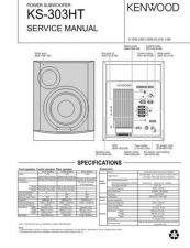 Buy KENWOOD KS-303HT Technical Info by download #148263
