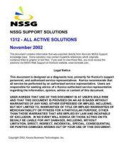 Buy Konica 1312 Service Schematics by download #135989