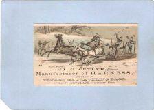 Buy CT Waterbury Victorian Trade Card J. G. Cutler, 14 Exchange Place~136