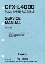 Buy Canon CFX-L4000 SERVICE Service Schematics by download #135142