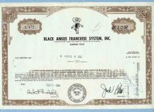 Buy FL na Stock Certificate Company: Black Angus Franchise System, Inc. ~11