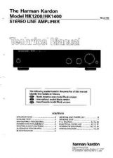 Buy HARMAN KARDON BU2 (NEW VERSION) SM Service Manual by download #142153