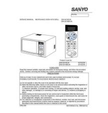 Buy Sanyo Service Manual For EM-G274 Manual by download #175792